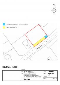21 Nov 2017 Plan - Proposed Block Measure Document REVISED BLOCK PLAN